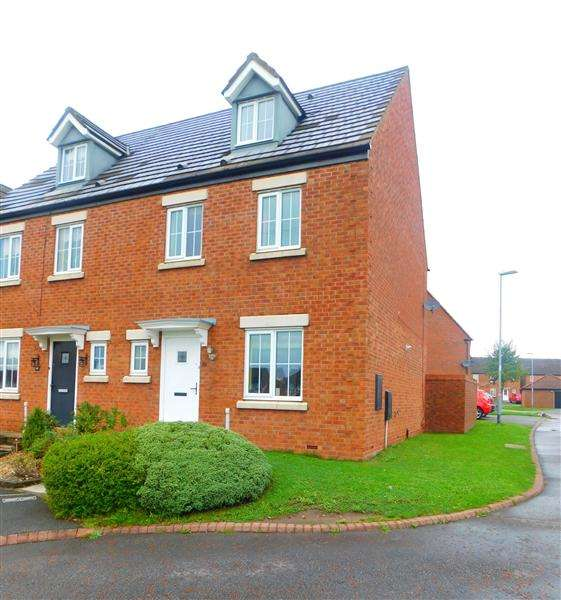 4 Bedrooms Semi Detached House for sale in Gibson Close, Kirkby