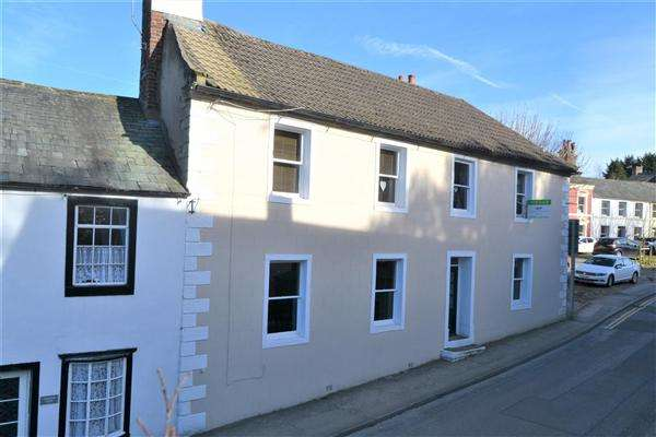 4 Bedrooms End Of Terrace House for sale in Kirkgate, Cockermouth