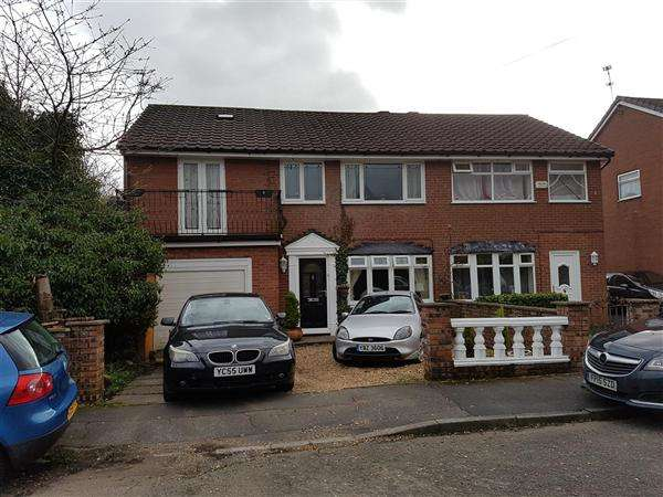 5 Bedrooms Semi Detached House for sale in Brookdale, Rochdale