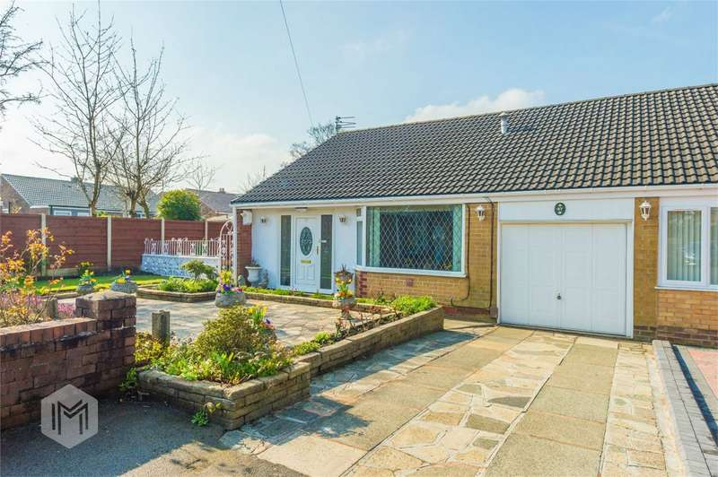 2 Bedrooms Semi Detached Bungalow for sale in Mayfield Avenue, Farnworth, Bolton, Lancashire