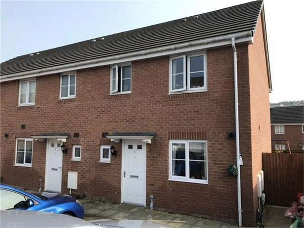3 Bedrooms End Of Terrace House for sale in Roderick Close, Townhill, Swansea, West Glamorgan