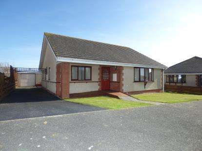 3 Bedrooms Bungalow for sale in Pen Gerddi, Holyhead, Sir Ynys Mon, LL65