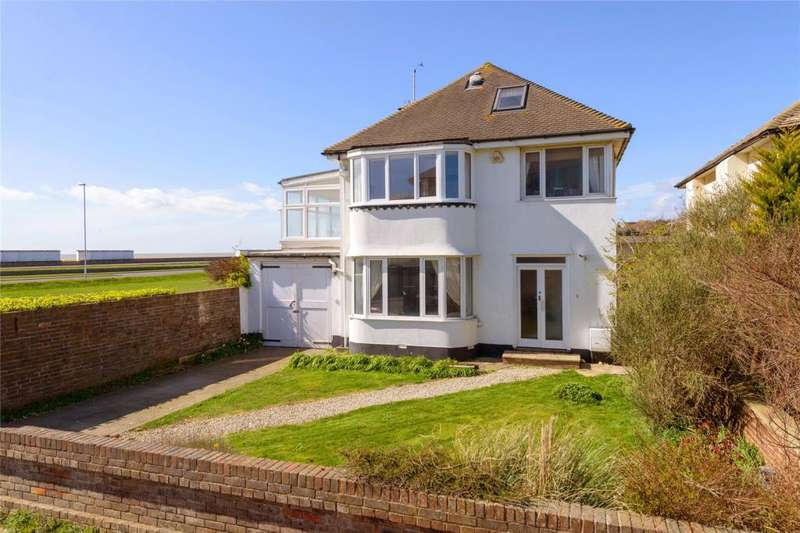 4 Bedrooms Detached House for sale in Anscombe Road, Worthing, West Sussex, BN11