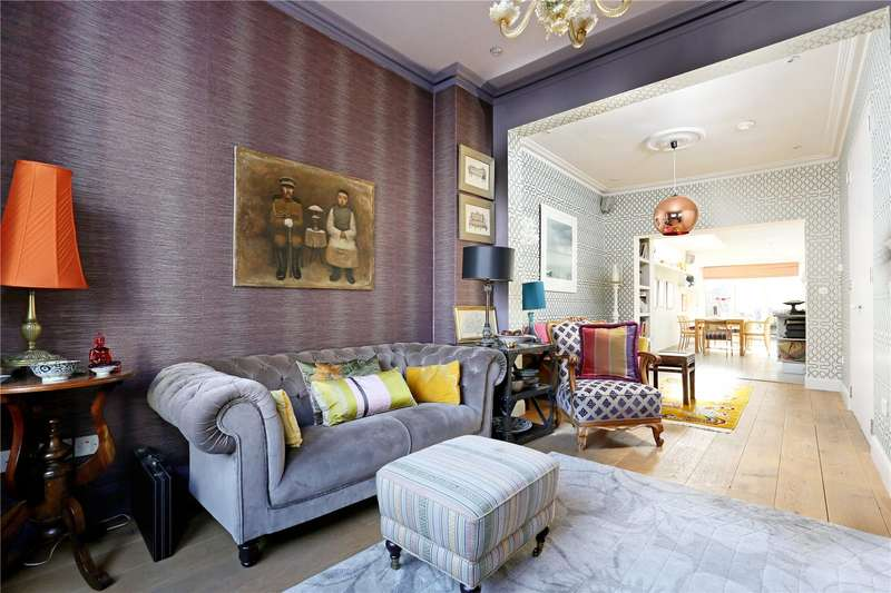 4 Bedrooms Terraced House for sale in Cranbrook Road, London, W4