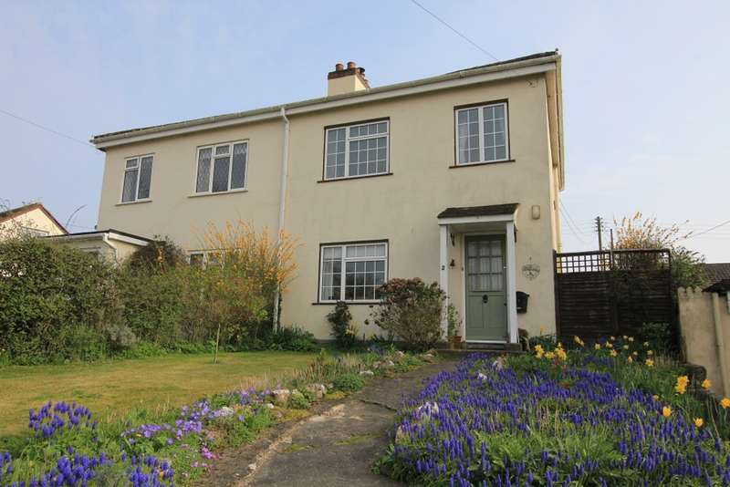 3 Bedrooms Semi Detached House for sale in Barn Park Cottages, Ipplepen