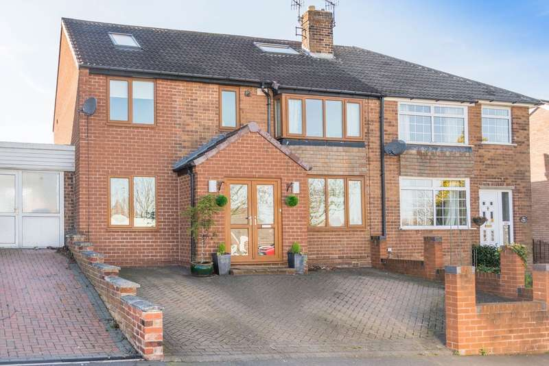 4 Bedrooms Semi Detached House for sale in Marchwood Road, Stannington