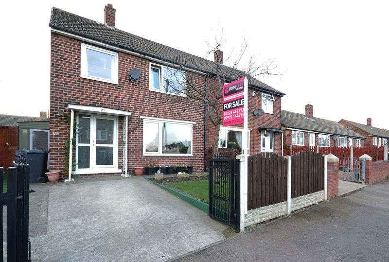 4 Bedrooms Semi Detached House for sale in Doles Crescent, Barnsley