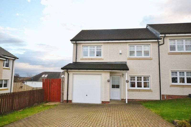 4 Bedrooms Semi Detached House for sale in Baxter Brae, Motherwell
