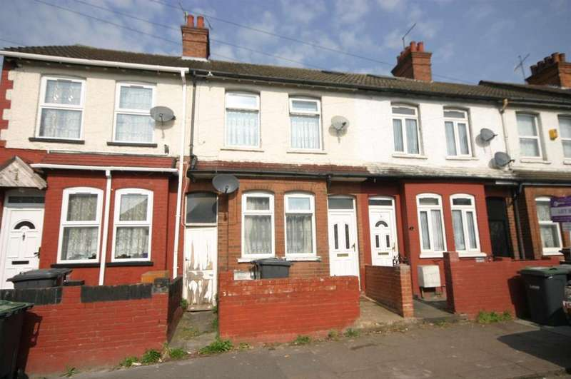 3 Bedrooms Terraced House for sale in Cavendish Road, Luton
