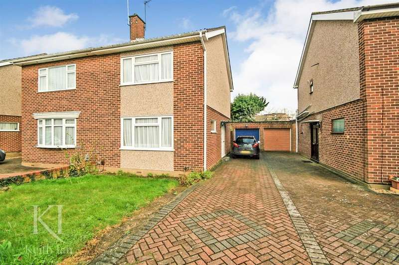 3 Bedrooms Semi Detached House for sale in Salmons close, Ware