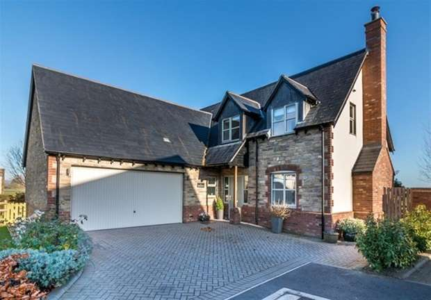 4 Bedrooms Detached House for sale in Old Orchard Close, Meare, Glastonbury