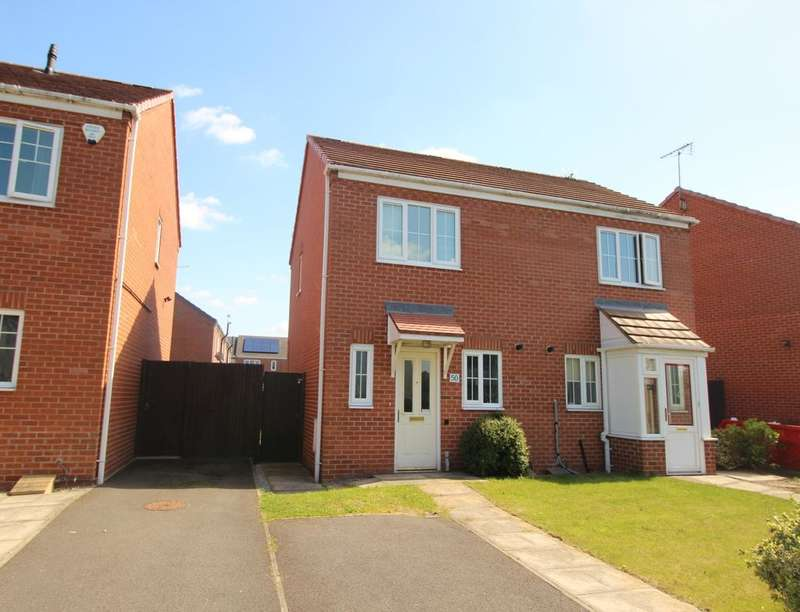 2 Bedrooms Semi Detached House for sale in Cockayne Street North, Allenton, Derby, DE24