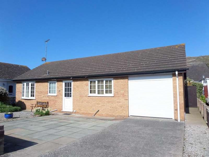 2 Bedrooms Detached Bungalow for sale in The Oval, West Shore, Llandudno