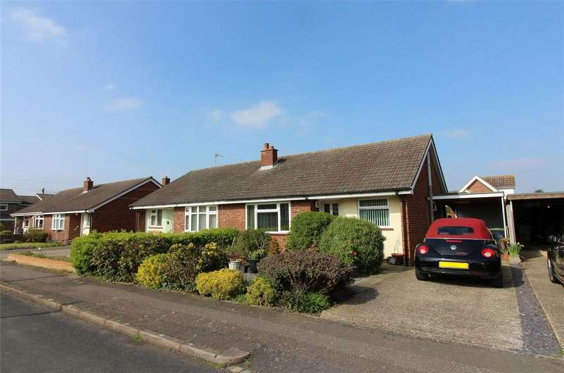 2 Bedrooms Semi Detached Bungalow for sale in Victoria Road, Shefford, Bedfordshire
