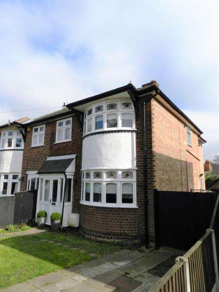 4 Bedrooms Semi Detached House for sale in Fernleigh Avenue, Mapperley, Nottingham