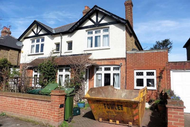 4 Bedrooms Semi Detached House for sale in Burgoyne Road, Sunbury-on-Thames