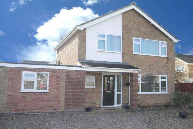 4 Bedrooms Link Detached House for sale in Laburnum Avenue, Lutterworth, LE17