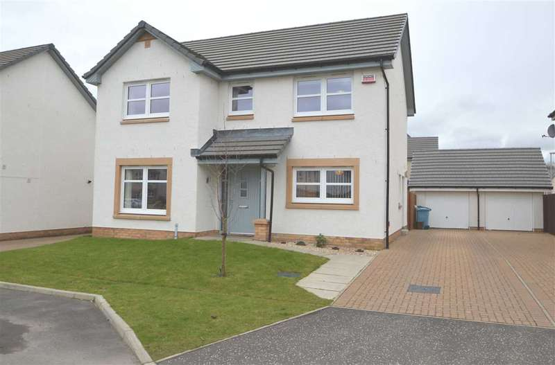 4 Bedrooms Detached House for sale in Forgehill Crescent, Coatbridge
