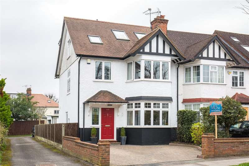 4 Bedrooms End Of Terrace House for sale in Mayfield Avenue, North Finchley, London, N12