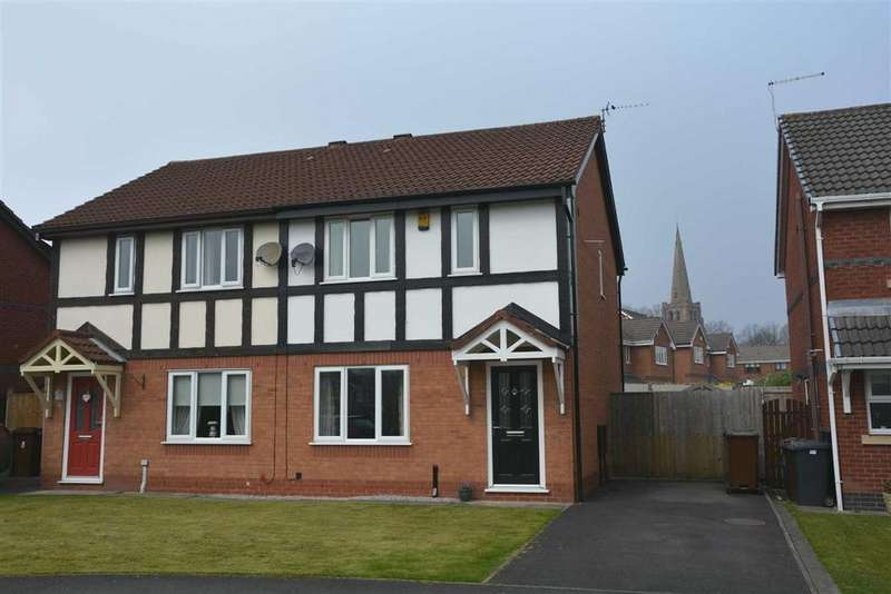 3 Bedrooms Semi Detached House for sale in Charlotte Drive, Highfield, Wigan, WN3