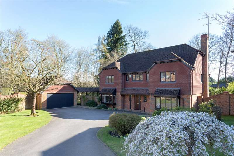 5 Bedrooms Detached House for sale in Barrington Park Gardens, Chalfont St. Giles, Buckinghamshire, HP8