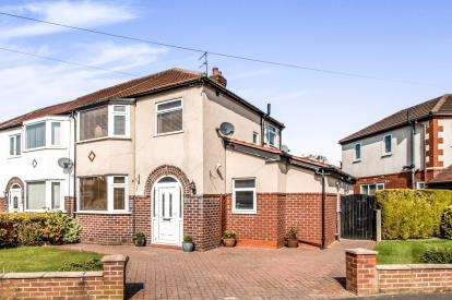 3 Bedrooms Semi Detached House for sale in Southvale Crescent, Timperley, Altrincham, Greater Manchester