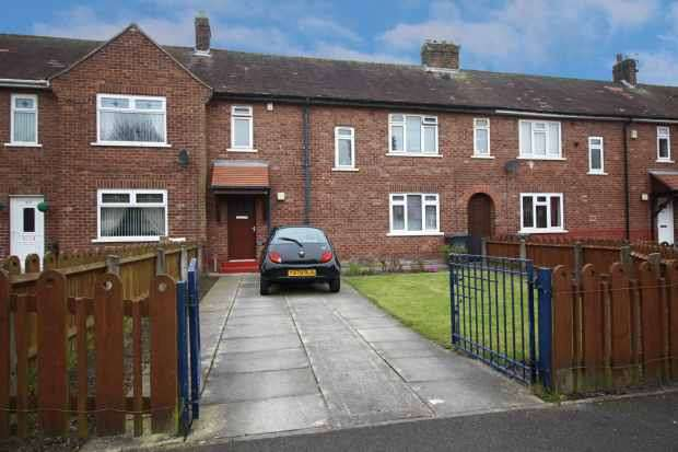 3 Bedrooms Terraced House for sale in Birkett Place, Preston, Lancashire, PR2 6HH