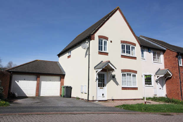 3 Bedrooms Semi Detached House for sale in Trentbridge Square, EXETER, EX2
