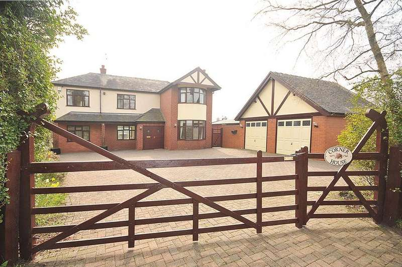 4 Bedrooms Detached House for sale in Brownlow, Congleton