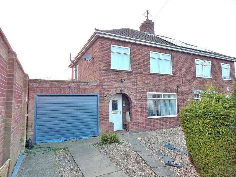 3 Bedrooms Semi Detached House for sale in Margaretta Close, Clenchwarton, King's Lynn