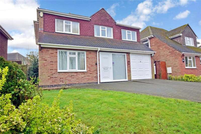 4 Bedrooms Detached House for sale in Springfield Close, Burton-on-the-Wolds, Loughborough