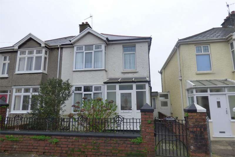 3 Bedrooms Semi Detached House for sale in 31 Stradey Park Avenue, Llanelli, Carmarthenshire
