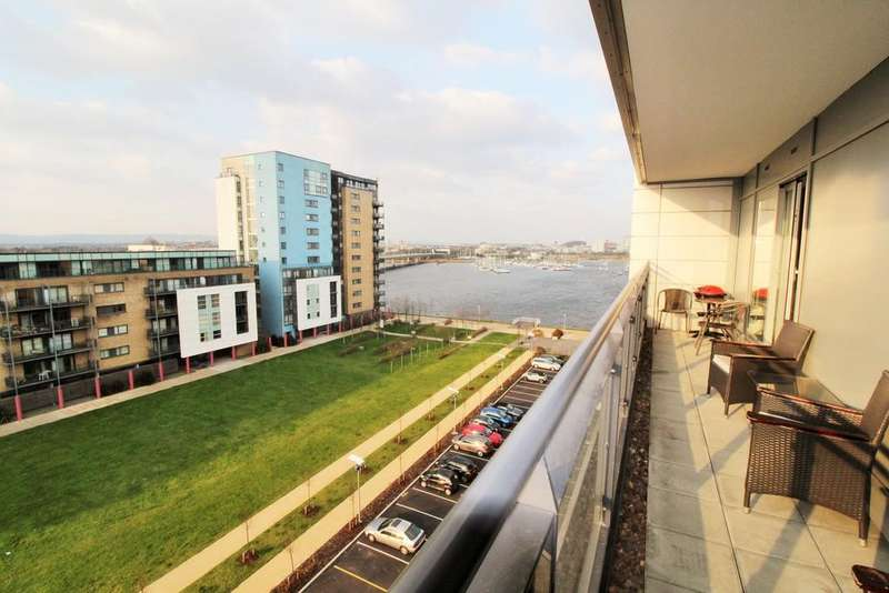 2 Bedrooms Apartment Flat for sale in Davaar House, Ferry Court, Cardiff Bay