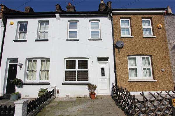 2 Bedrooms Terraced House for sale in Bynes Road, South Croydon
