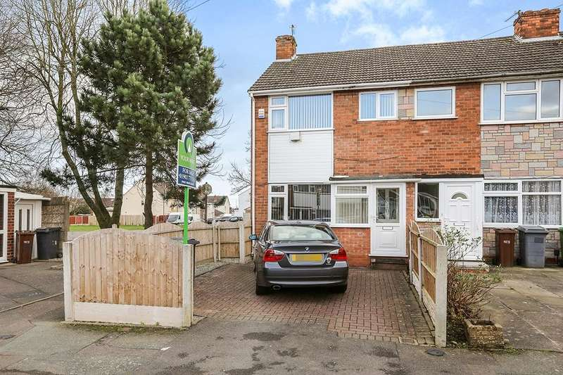 3 Bedrooms Semi Detached House for sale in Talbot Road, Wolverhampton, WV2
