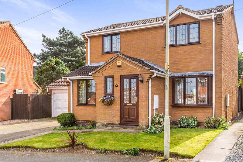3 Bedrooms Detached House for sale in Knights Link, Earl Shilton, Leicester, LE9