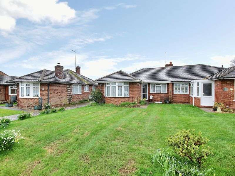 2 Bedrooms Semi Detached Bungalow for sale in Keld Drive, Uckfield, East Sussex