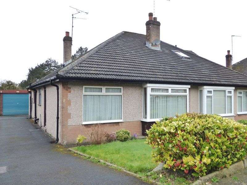 2 Bedrooms Semi Detached Bungalow for sale in Piccadilly Close, Lancaster