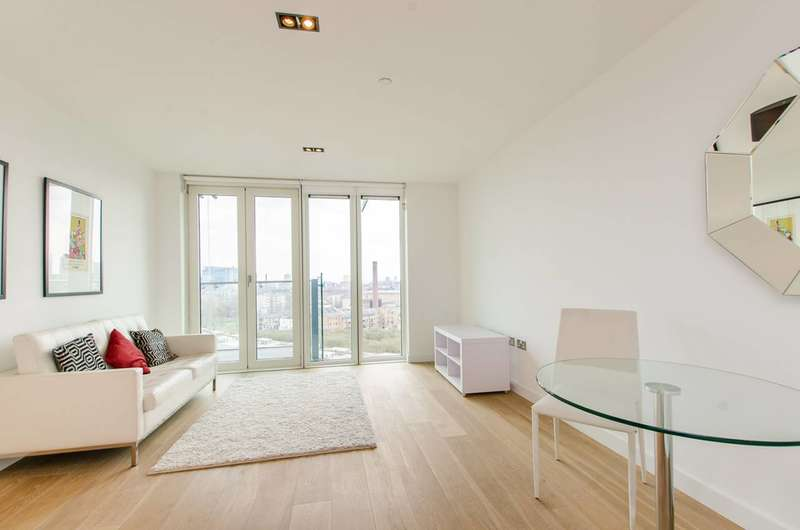 1 Bedroom Flat for sale in Avantgarde Place, Shoreditch, E1