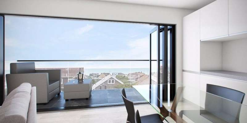 2 Bedrooms Flat for sale in Sunset, South Coast Road Peacehaven BN10