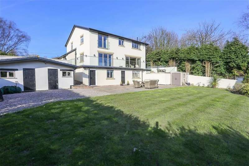 4 Bedrooms Detached House for sale in Uplands Road, Werneth Low, Cheshire