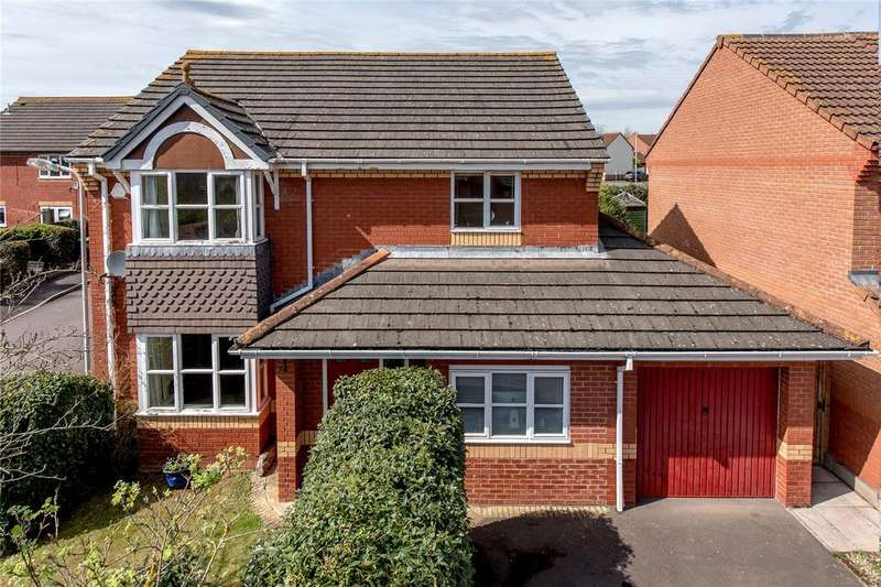 4 Bedrooms Detached House for sale in Farriers Green, Monkton Heathfield, Taunton, Somerset