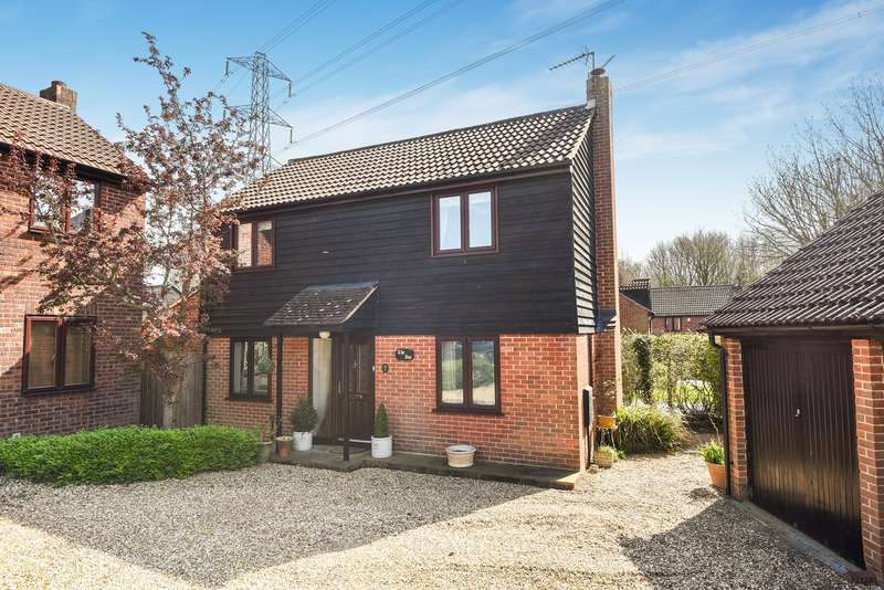 3 Bedrooms Detached House for sale in Broadhurst Grove, Lychpit, Basingstoke, RG24