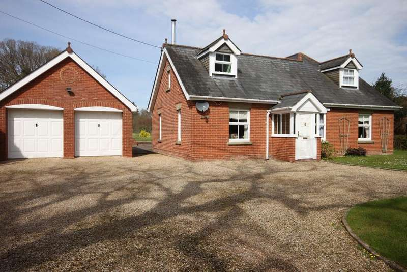 5 Bedrooms Detached House for sale in CROCKFORD ROAD, WEST GRIMSTEAD, WILTSHIRE