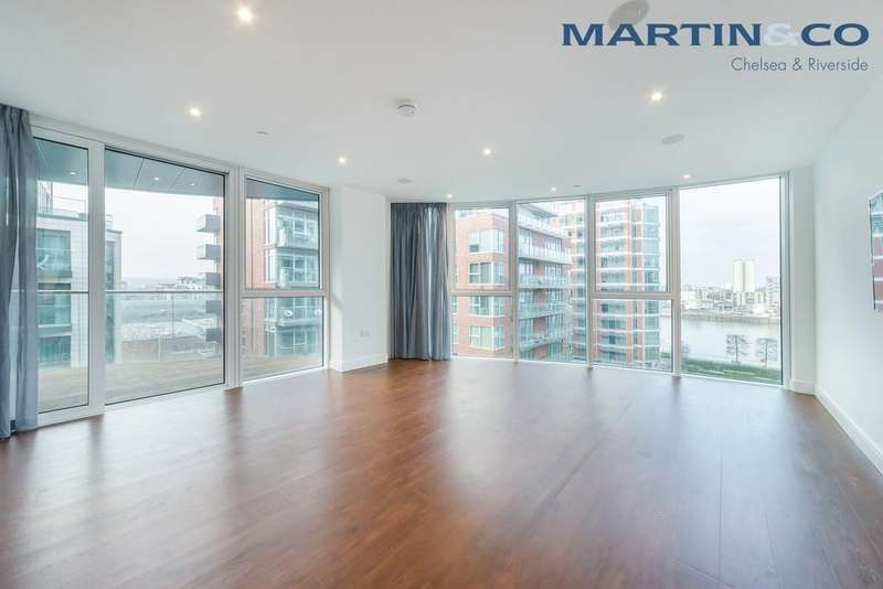 3 Bedrooms Apartment Flat for sale in The Pinnacle, Battersea Reach