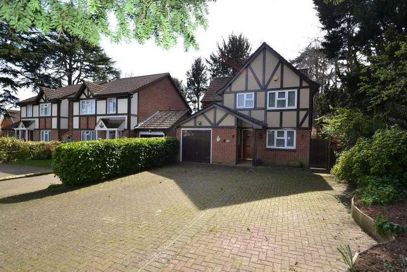 4 Bedrooms Detached House for sale in Charlton Close, Hoddesdon, EN11
