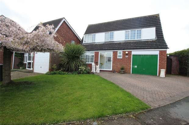 5 Bedrooms Detached House for sale in Giles Road, Lichfield, Staffordshire