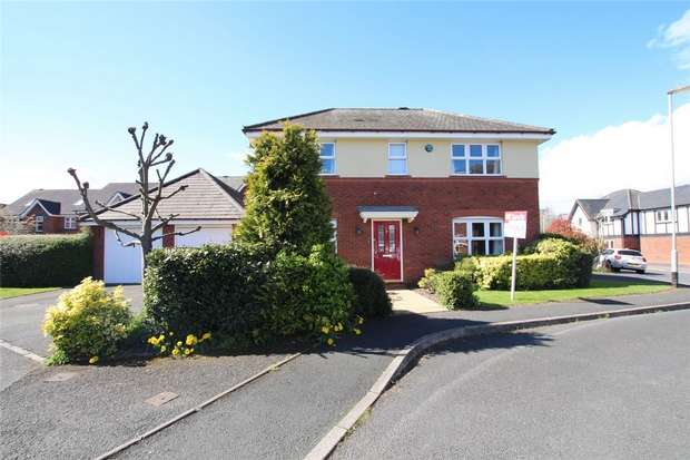4 Bedrooms Detached House for sale in Wyndham Wood Close, Fradley, Lichfield, Staffordshire
