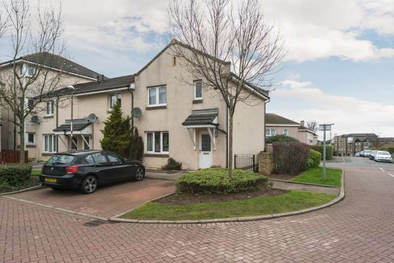 3 Bedrooms End Of Terrace House for sale in Saughton Mains Gardens, Saughton, Edinburgh, EH11 3GX