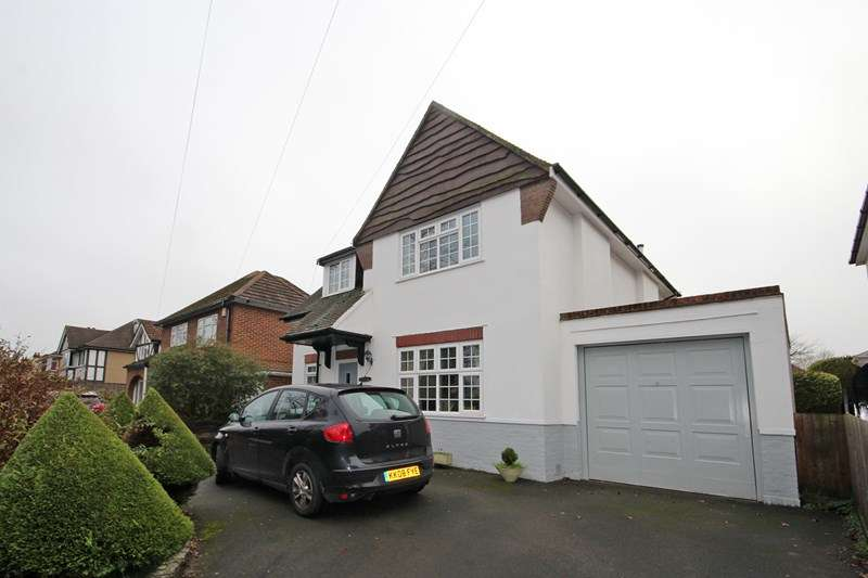 3 Bedrooms Detached House for sale in Castle Lane East, Bournemouth